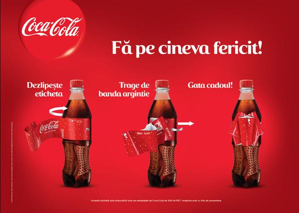 Sticla Coca-Cola de sarbatoare