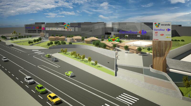 Centrul comercial Veranda, inaugurat pe 27 octombrie