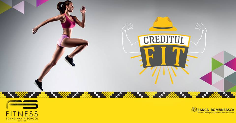 Creditul FIT si Fitness Scandinavia