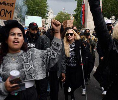 Madonna-protest-in-carje