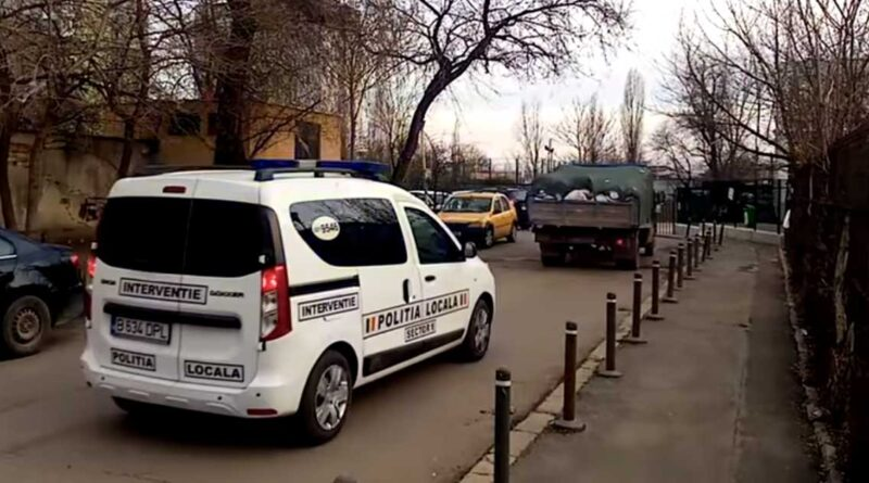 Prima-mașină-confiscată-în-București-pentru-transport-ilegal-de-moloz